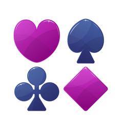 playing card suit symbol vector image