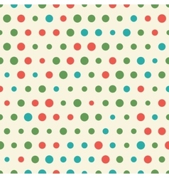random pattern big and small colorful vector image