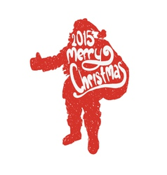Santa Claus isolated vector image vector image
