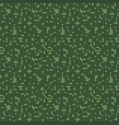 semless pattern green squares vector image