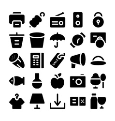 Shopping Icons 10 vector