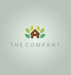 Tree house logo ideas design vector