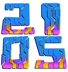 2015 Creative Design vector image