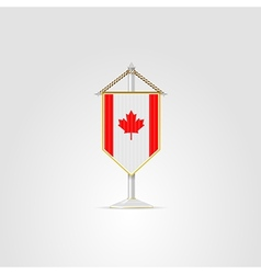 national symbols of North America countries Canada vector image