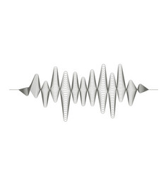 audio digital equalizer technology musical pulse vector image