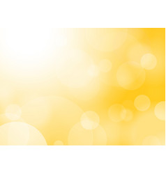 Blured yellow background vector