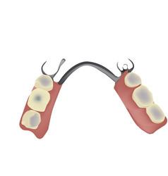 Dental technician dental instrument reconstruction vector