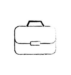 Figure briefcase to businessman important vector