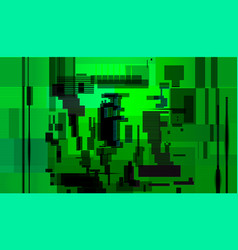 Glitch abstract backgroundcomputer screen error vector