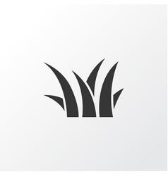 grass icon symbol premium quality isolated sedge vector image vector image