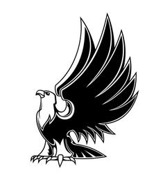 Majestic eagle mascot vector image