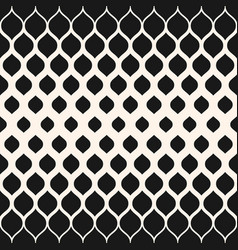 Monochrome pattern with halftone transition mesh vector