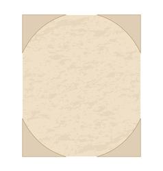 old grunge sheet of paper vector image