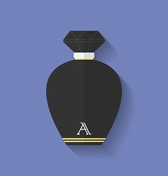 Perfume icon Flat style vector image
