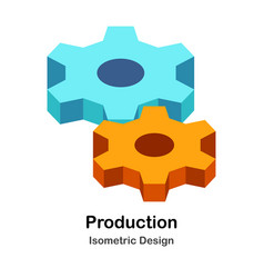 Production isometric vector