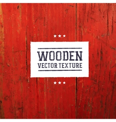 red painted wooden texture vector image vector image