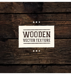 wooden vector image