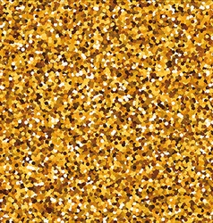 Sparkling golden seamless pattern with round vector image