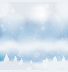 Abstract christmass winter background vector