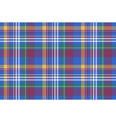 Check colored shirt tartan seamless background vector