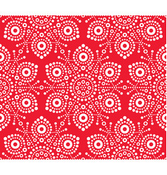 christmas white snowflake seamless pattern vector image