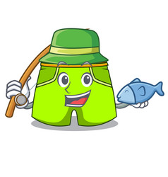 Fishing cartoon shorts style for the swimming vector