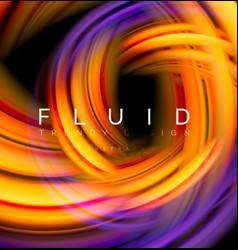 Fluid smooth wave abstract background flowing vector