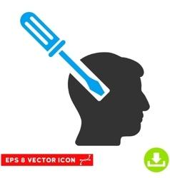 Head Screwdriver Tuning Eps Icon vector image