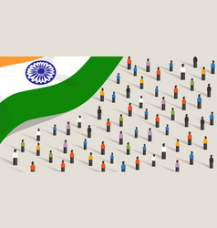 indian independence anniversary celebration and vector image