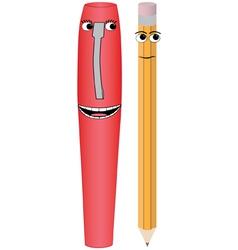Pen pencil vector