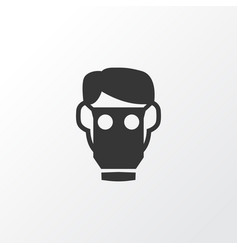 respirator icon symbol premium quality isolated vector image