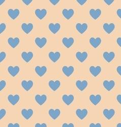 Seamless polka dot brown pattern vector