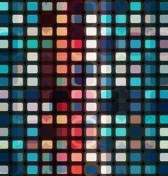 mosaic cells seamless vector image vector image