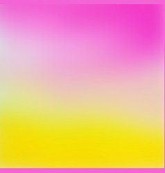 abstract pink to yellow gradient background vector image