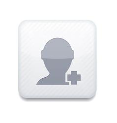 Add friend icon vector