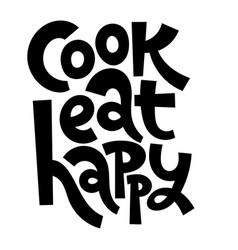 Cooking class quotes vector