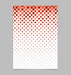 Geometrical pattern brochure design - mosaic vector