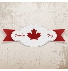 Holiday Graphic Element for Canada Day vector