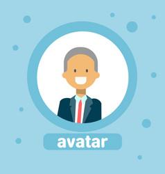 male avatar businessman profile icon element user vector image