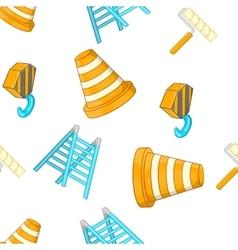 Repair pattern cartoon style vector image