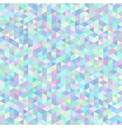 Seamless abstract triangle polygonal background vector