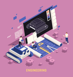 Stem education engineering composition vector