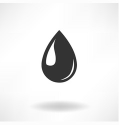 drop simple icon vector image