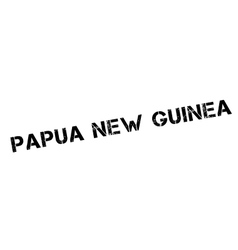 Papua new guinea rubber stamp vector