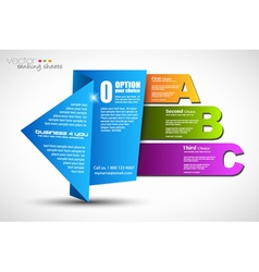 Ranking Page vector image vector image