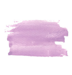 abstract lavender purple brush stroke area vector image