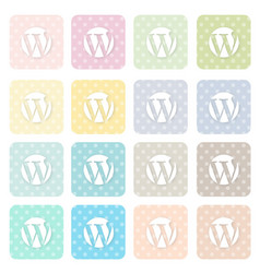 Icons-social16 vector