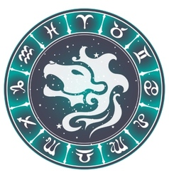 Leo zodiac sign vector