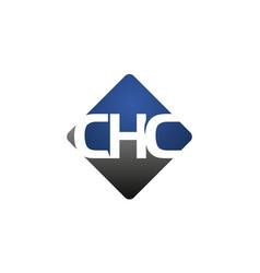 Letter chc modern vector