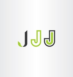 Letter j icons logo set symbol elements vector